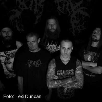 "VISCERAL DISGORGE: Lyric-Video vom Brutal Death Album ""Slithering Evisceration"""