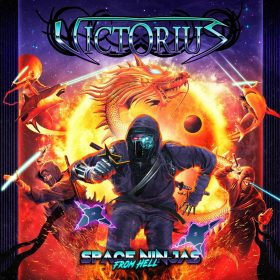 "VICTORIUS: Lyric-Video ""Wrath Of The Dragongod"" vom neuen Album ""Space Ninjas From Hell"""