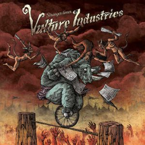 "VULTURE INDUSTRIES: Lyric-Video zu ""Stranger Times""-Album"