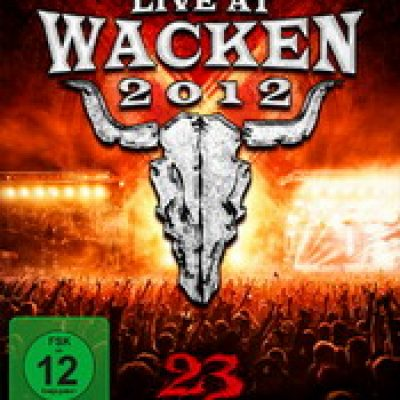 WACKEN OPEN AIR: Live At Wacken 2012 – 23Years – Fast3r:Hard3r:Loud3r [3DVD]