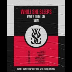 WHILE SHE SLEEPS: Europatour mit EVERY TIME I DIE und VEIN im Januar 2020