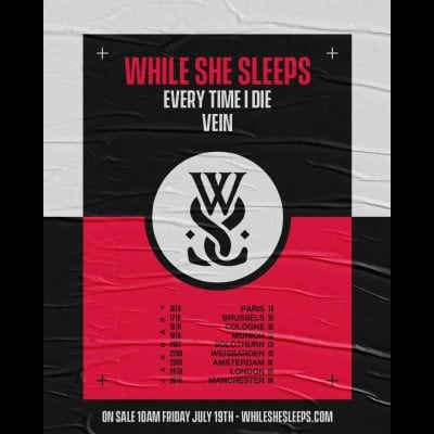 "WHILE SHE SLEEPS: neuer Song ""Fakers Plague"" & Europatour 2020"