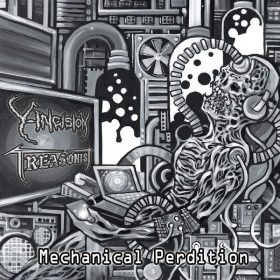 "Y-INCISION / TREASONIST: Neue Grindcore / Death Metal Split ""Mechanical Perdition"""