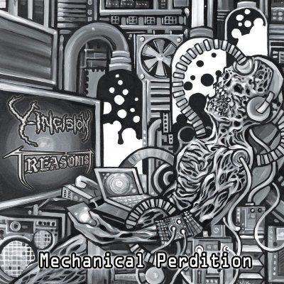 "Y-INCISION / TREASONIST: Neue Grindcore / Death Metal Split ""Mechanical Perdition"""