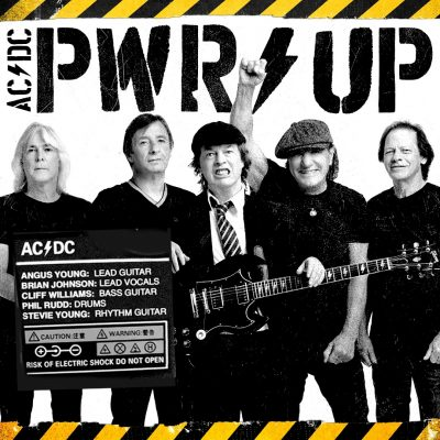 "AC/DC:  Video zur Single ""Shot In The Dark"", Cover & Tracklist des neuen Albums ""PWR UP"""