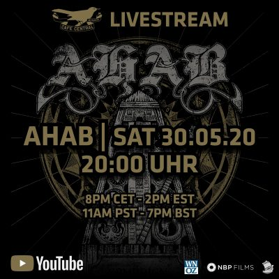 AHAB: Livestream am 30. Mai