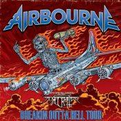 Breakin' Outta Hell-Tour 2017 mit AIRBORNE, DESECRATOR