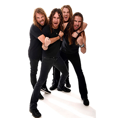 AIRBOURNE: neue Besetzung, Single & Tour