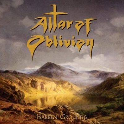 ALTAR OF OBLIVION: Barren Grounds [EP]