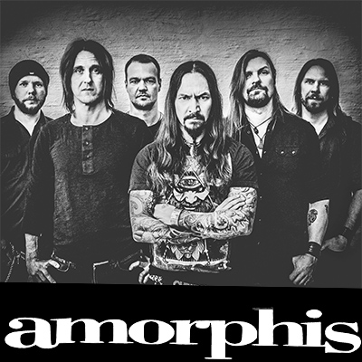amorphis Bandfoto