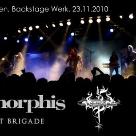 AMORPHIS, ORPHANED LAND, GHOST BRIGADE: München, Backstage, 23.11.2010