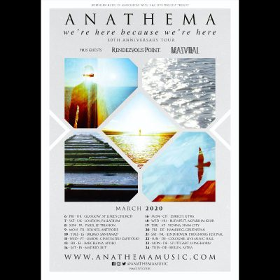 "ANATHEMA: Jubiläums-Tour zum ""We're Here Because We're Here""-Album"