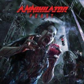 """ANNIHILATOR: Cover, Tracklist & Trailer von """"Feast"""""""