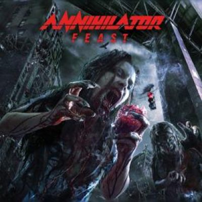 "ANNIHILATOR: Cover, Tracklist & Trailer von ""Feast"""