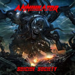 "ANNIHILATOR: Song vom neuen Album ""Suicide Society"""