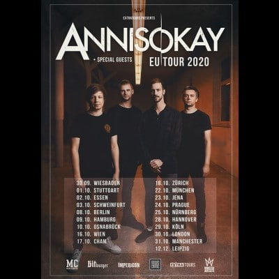 "ANNISOKAY: neue Single ""Like A Parasite"" und Tour"