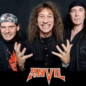 "ANVIL: nehmen neues Album ""Pounding The Pavement"" auf"