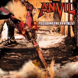 anvil pounding the pavement CD Cover