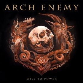archenemy will to power CD Cover