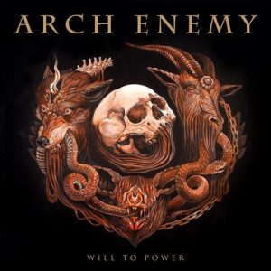 "ARCH ENEMY: Cover von ""Will To Power"""
