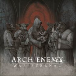 "ARCH ENEMY:  Cover & Tracklist von ""War Eternal"""