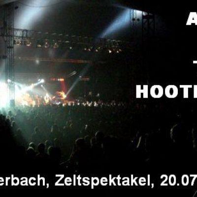 ASIA, THE HOOTERS: Winterbach, Zeltspektakel, 20.07.2007
