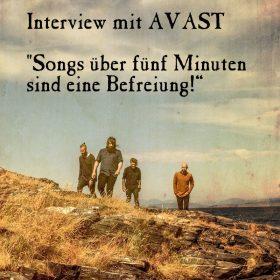 AVAST: Songs über fünf Minuten sind eine Befreiung!