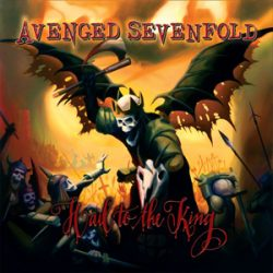 "AVENGED SEVENFOLD:  Tracklist von  ""Hail To The King"""