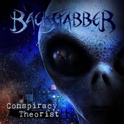 """BACKSTABBER: verschwörerisches Albumdebüt """"Conspiracy Theorist"""""""