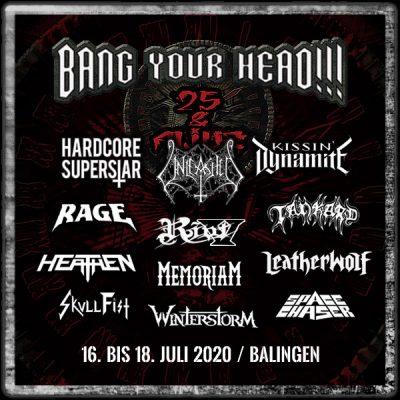 BANG YOUR HEAD 2020: RIOT spielen auf dem Jubiläums-Festival