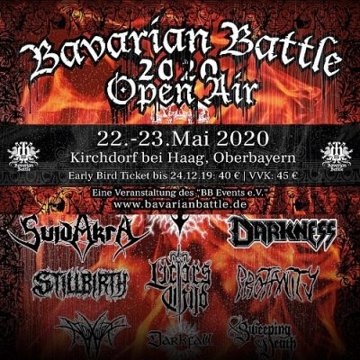 BAVARIAN BATTLE 2020: mit BENEDICTION, UNLEASHED, IRON ANGEL