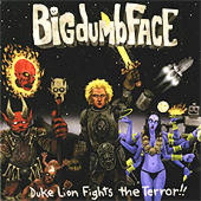 BIGDUMBFACE: Duke Lion Fights The Terror!!!