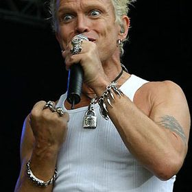 BILLY IDOL, Hamburg, Stadtpark, 04.06.2005