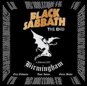 BLACK SABBATH The End (Live In Birmingham Cover