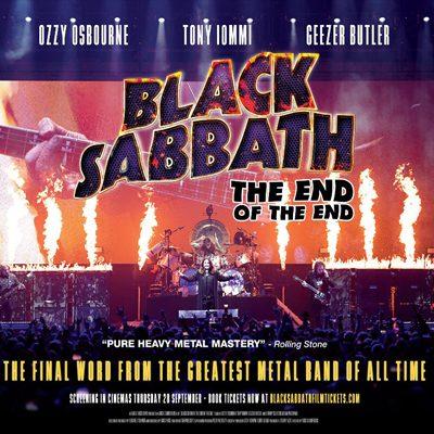 """BLACK SABBATH: Trailer zum Konzertmitschnitt """"The End Of The End"""""""