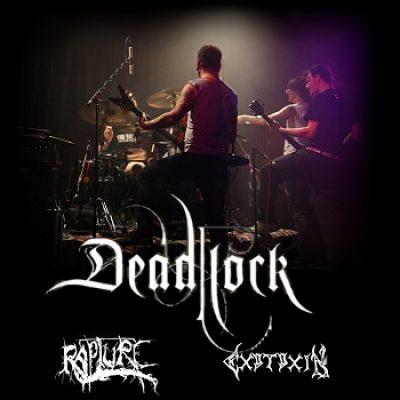 BLACK ZONE BAVARIA Pt. II mit DEADLOCK, RAPTURE, EXOTOXIN, BLEEDING RED und DAMIEN: Freising, Lindenkeller, 24.04.2009
