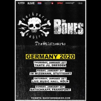 BACKYARD BABIES: Tour mit THE BONES & ein neues Video