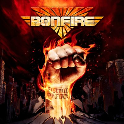 "BONFIRE: Video-Clip von neuem Album ""Fistful Of Fire"""