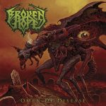 "BROKEN HOPE: Cover von  ""Omen Of Disease"""