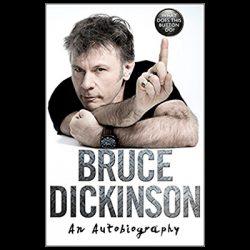 """BRUCE DICKINSON: liest seine Autobiografie """"What Does This Button Do?"""" vor"""