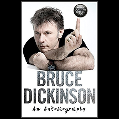 "BRUCE DICKINSON: liest seine Autobiografie ""What Does This Button Do?"" vor"