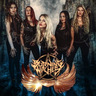 BURNING WITCHES:  'Wings Of Steel' EP auf Vinyl