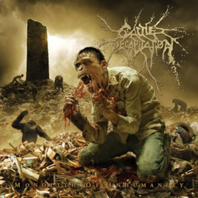CATTLE DECAPITATION: Cover von ´Monolith of Inhumanity´