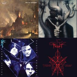 "CELTIC FROST: Re-Releases von  ""Morbid Tales"", ""To Mega Therion"", ""Into The Pandemonium"" und ""Vanity/Nemesis"""