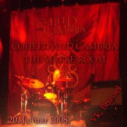 COHEED AND CAMBRIA, THE MAPLE ROOM: Vk, Brüssel, 20.01.2008