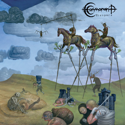 "CORMORANT: neues Album ""Diaspora"" – vier Songs in 60 Minuten"