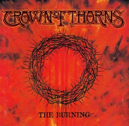 crown of thorns the burning cover