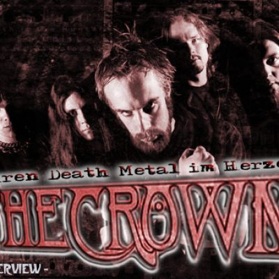 THE CROWN: Puren Death Metal im Herzen