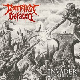 "DAMNATION DEFACED: neues Konzeptalbum ""Invader From Beyond"""