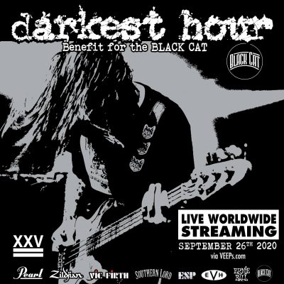 DARKEST HOUR: Konzert im Live-Stream am 26./27. September